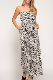 She + Sky Animal Print Jumpsuit - Product Mini Image