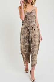 ee:some Animal Print Jumpsuit - Other