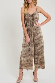 ee:some Animal Print Jumpsuit - Front cropped