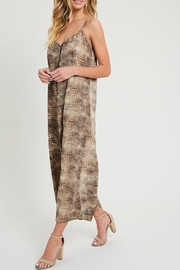ee:some Animal Print Jumpsuit - Back cropped