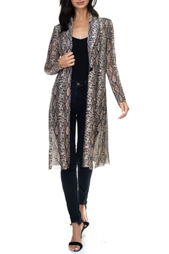 Ariella USA Animal Print Lightweight Duster - Product List Image