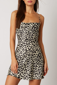 Cotton Candy Animal Print Mini Dress - Product List Image