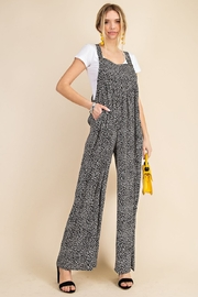 Kori Animal Print Overall Jumpsuit - Other