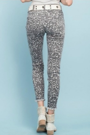 easel Animal Print Pants - Side cropped