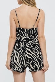 Papermoon Animal Print Romper - Side cropped
