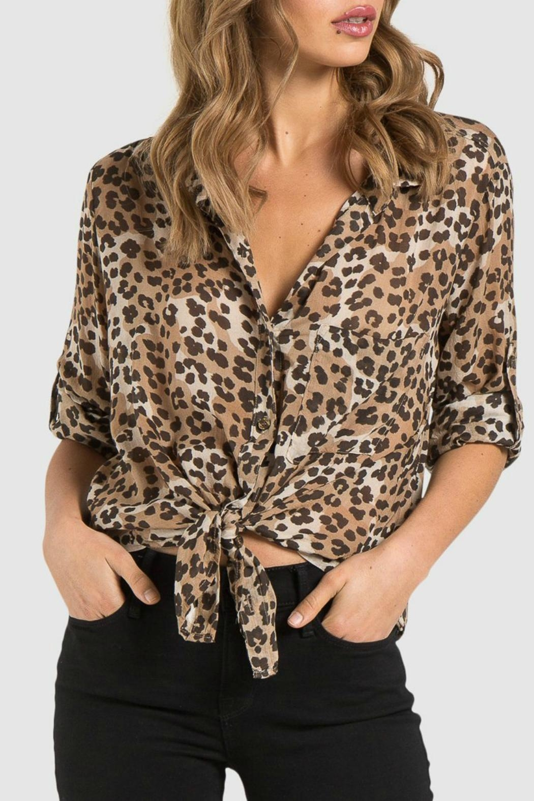 1a417fb0bea72 Bella Dahl Animal Print Shirt from Orange County by Jeanni Champagne ...