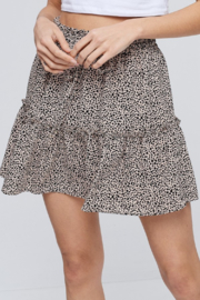 crescent Animal Print Skirt - Product Mini Image