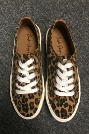 Charlie Paige  Animal Print Sneakers - Product Mini Image