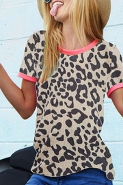 Bibi Animal Print Tee - Product Mini Image