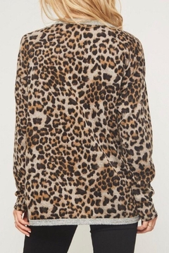 LuLu's Boutique Animal Print Top - Alternate List Image