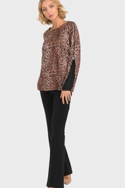 Joseph Ribkoff  animal print top - Product Mini Image