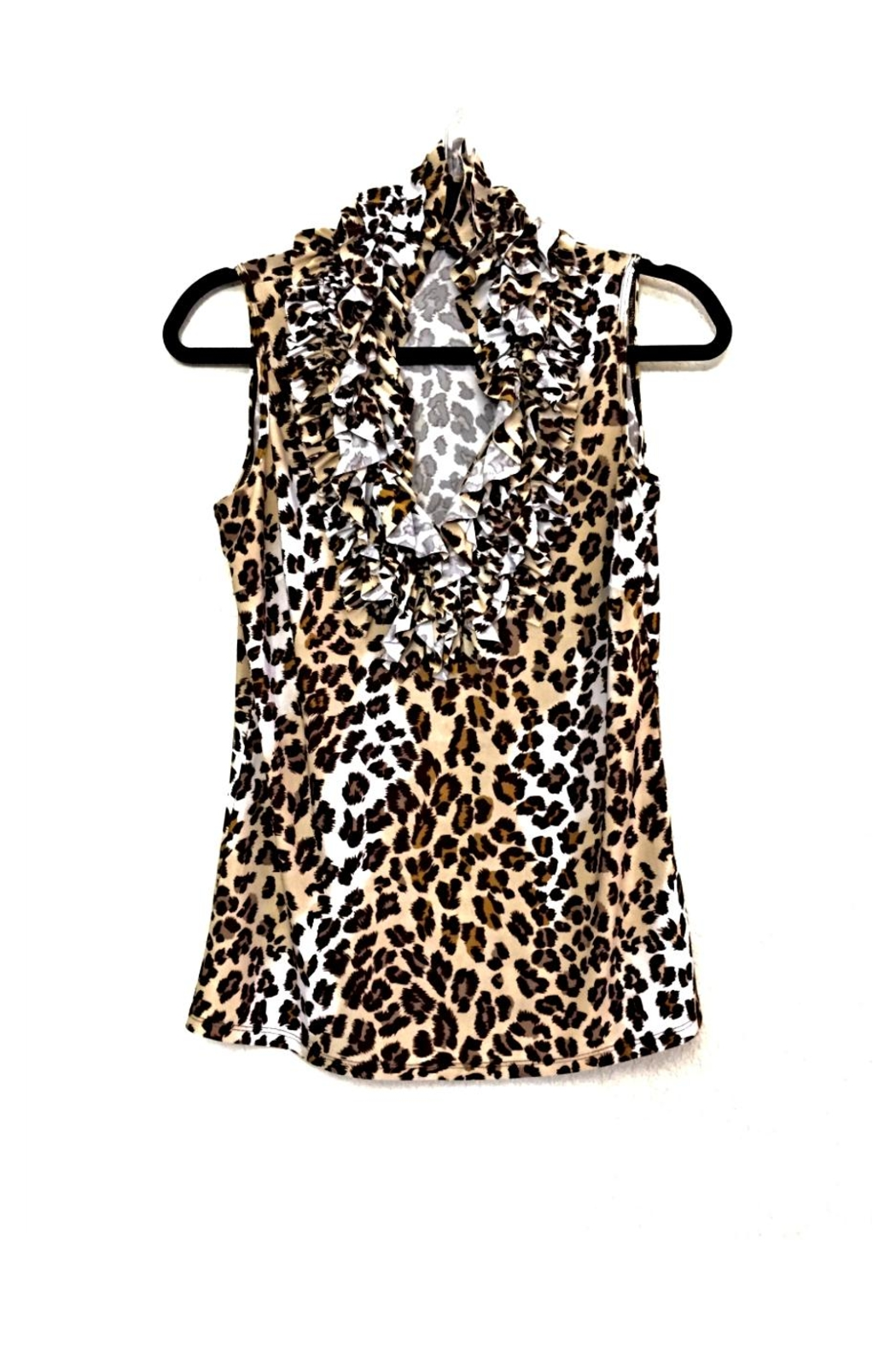 Love's Hangover Creations Animal Print Top - Front Cropped Image
