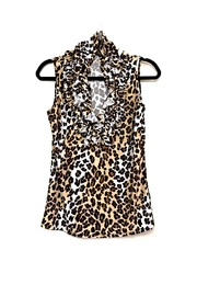 Love's Hangover Creations Animal Print Top - Front cropped