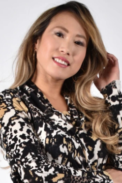 Shoptiques Product: Animal print tunic with a stylish cowl neck, hemline that rises at the front. Long sleeves.