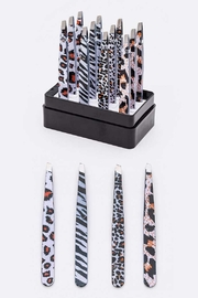 Lyn -Maree's Animal Print Tweezers - Front cropped