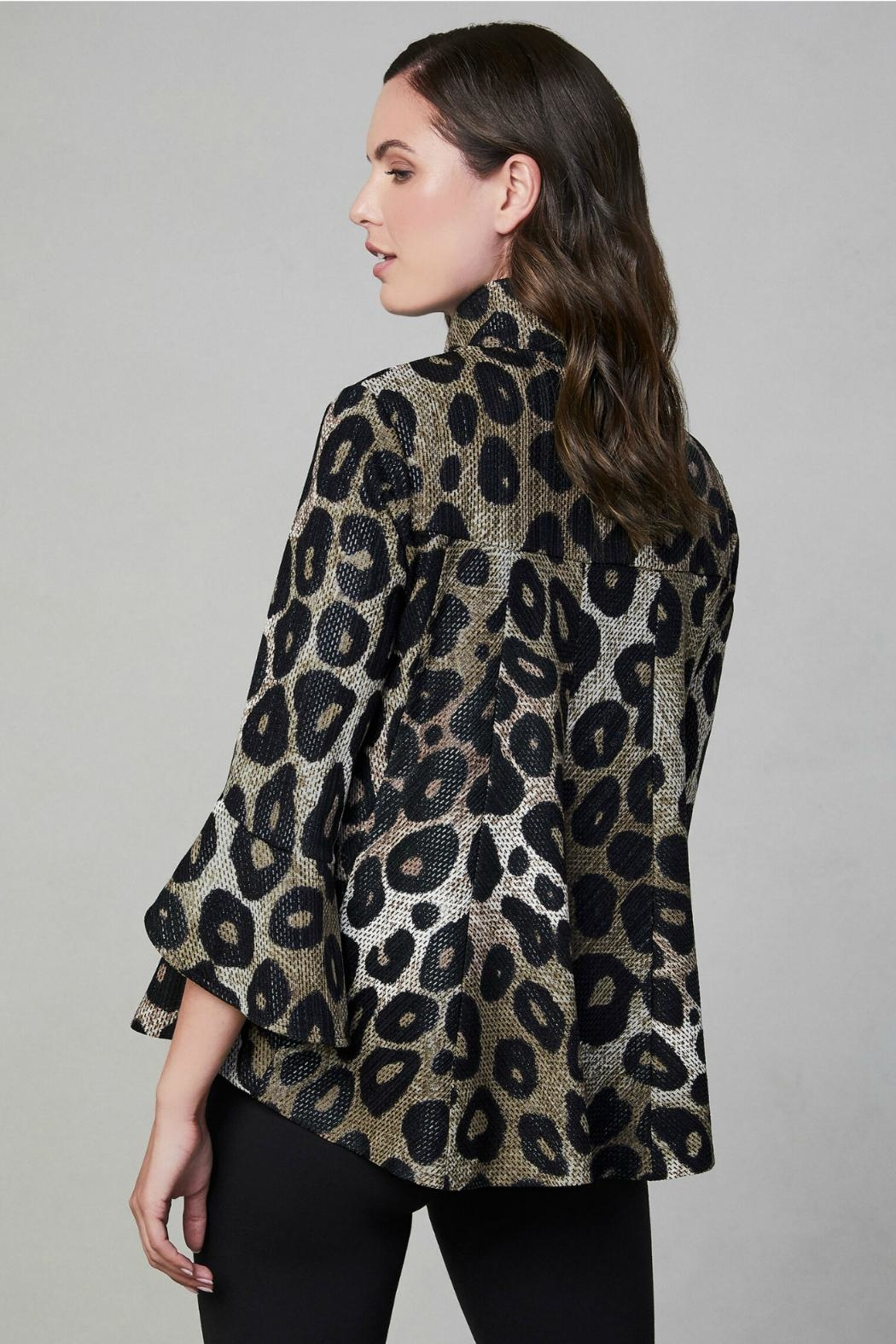 Frank Lyman ANIMAL PRINT WOVEN JACKET 194252 - Side Cropped Image