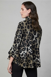Frank Lyman ANIMAL PRINT WOVEN JACKET 194252 - Side cropped