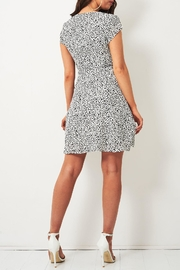 frontrow Animal-Print Wrap Dress - Side cropped