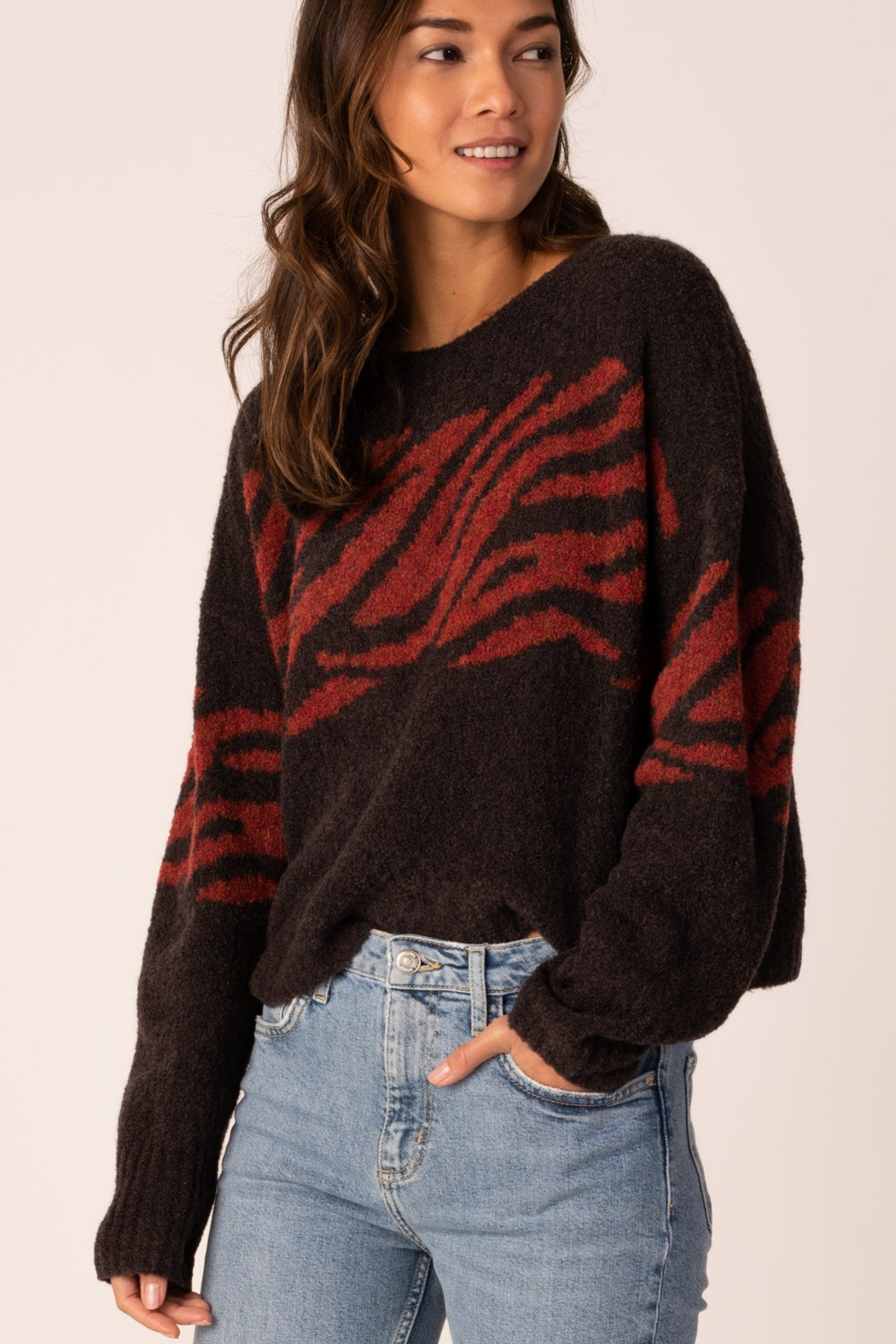 Margaret O'Leary Animal Pullover - Main Image