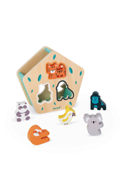 Janod  Animal Shapes Wooden Sorting Box=In Partnership With WWF - Product Mini Image