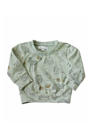 Bailey's Blossoms Animal Sweater - Front cropped