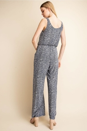Unknown Factory Animalprint Jumpsuit - Front full body