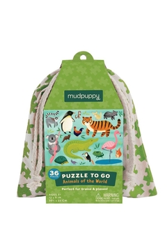 Mudpuppy Animals Puzzle-To-Go - Product List Image