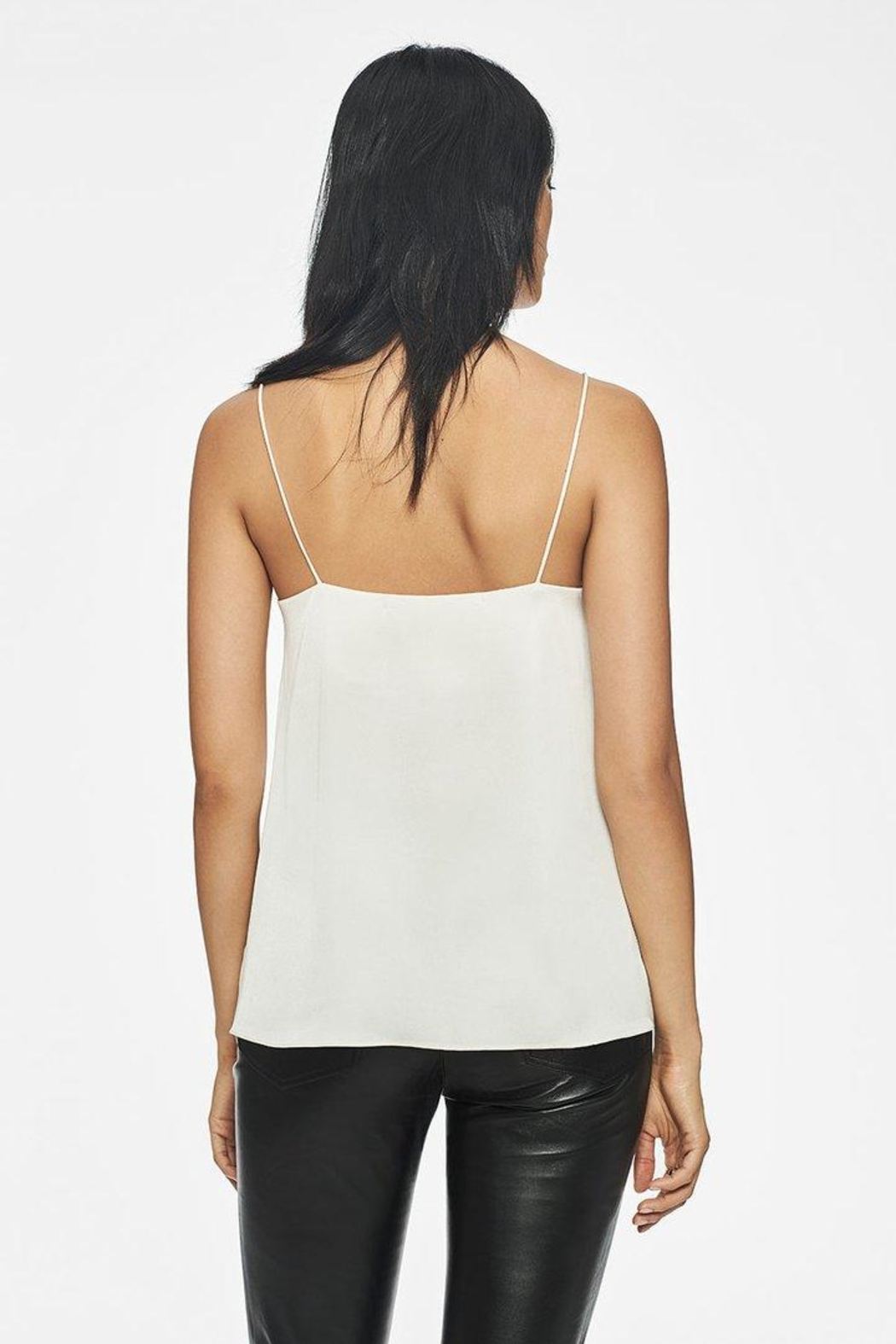 Anine Bing Belle Camisole White - Front Full Image
