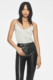 Anine Bing Belle Camisole White - Back cropped