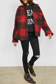 Anine Bing Bobbi Flannel Red - Product Mini Image