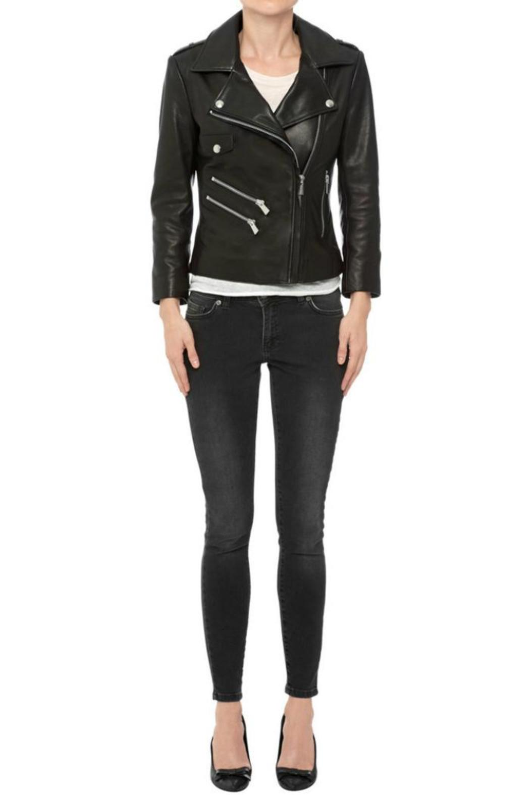 ce08114bff Anine Bing Cropped Leather Jacket from Canada by Era Style Loft ...