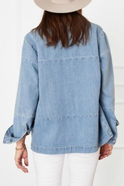 Anine Bing Denim Shirt - Side cropped