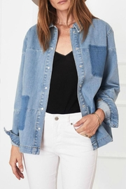 Anine Bing Denim Shirt - Front full body