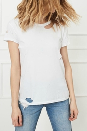 Anine Bing Distressed T-Shirt - Product Mini Image