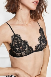 Anine Bing Floral Lace Bra - Product Mini Image