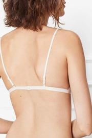 Anine Bing Floral Lace Bra - Back cropped