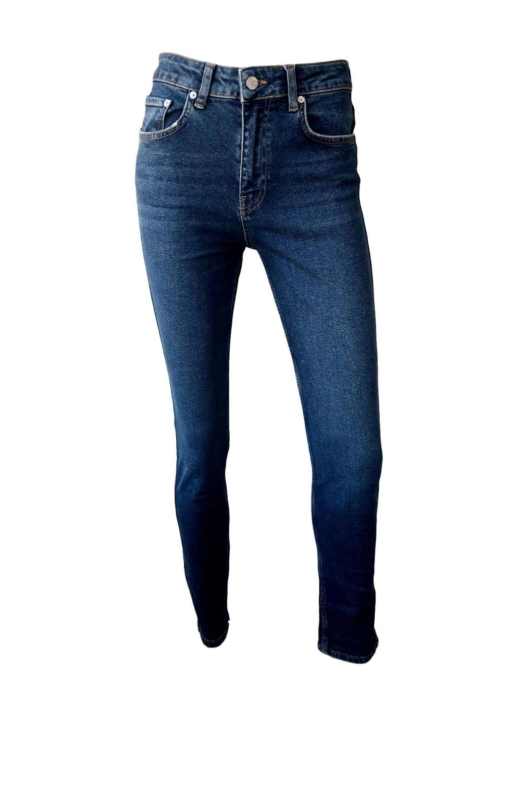 Anine Bing Jagger Jean - Front Full Image