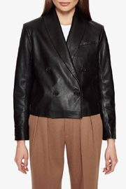 Anine Bing Mae Blazer Leather - Product Mini Image