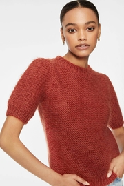 Anine Bing Nicolette Sweater Rust - Front cropped