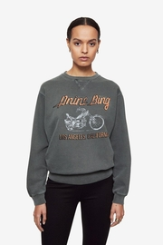 Anine Bing Ramona Sweatshirt Motorcycle - Product Mini Image