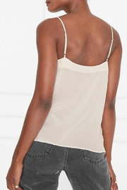 Anine Bing Silk Camisole - Back cropped