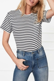 Anine Bing Striped Tee - Product Mini Image