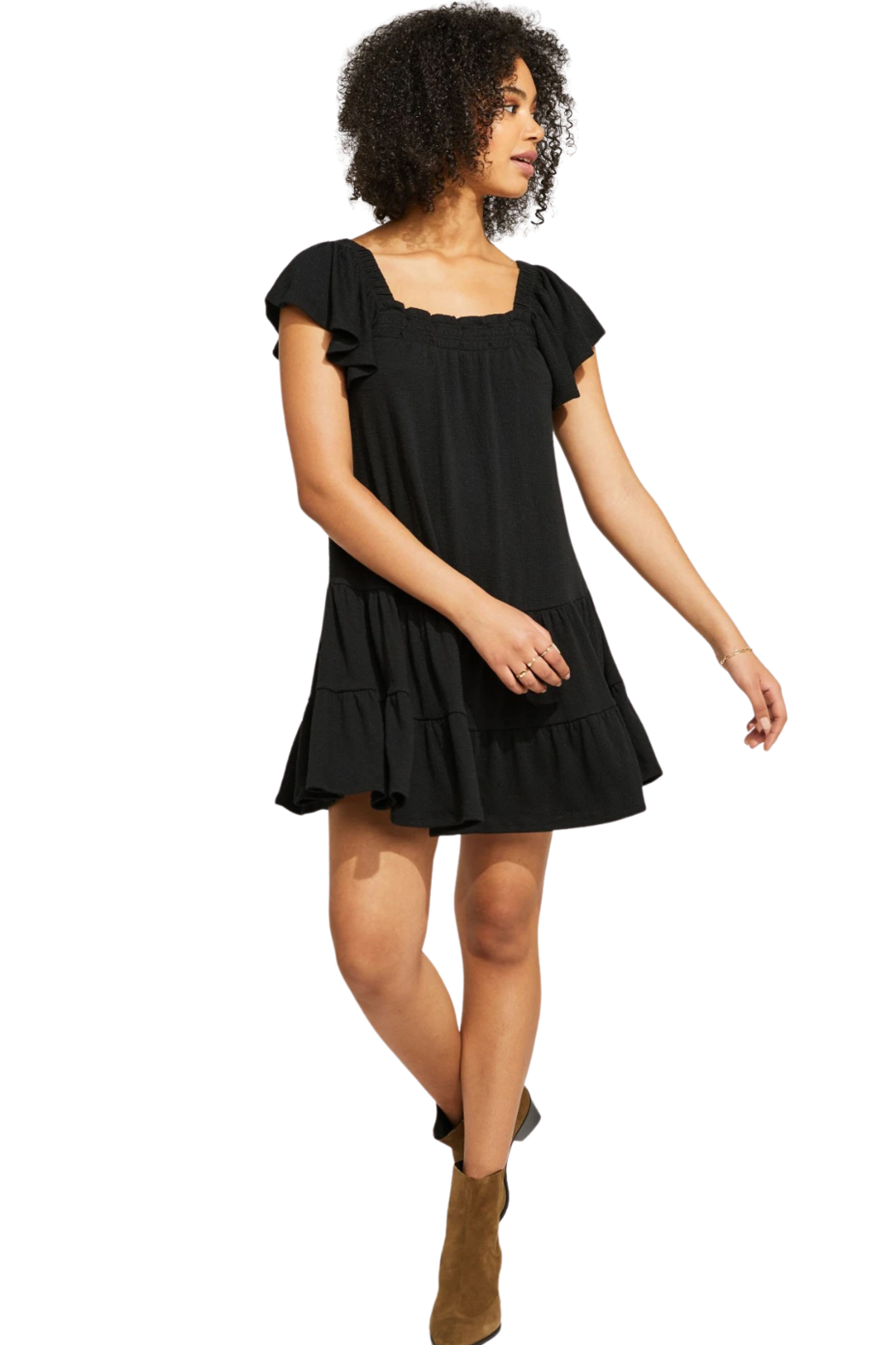 Gentle Fawn Anise Dress - Side Cropped Image