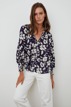 Velvet Anissa Printed Blouse - Product List Image