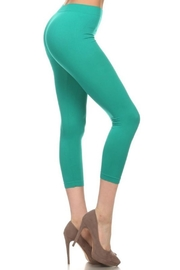 Anita Mint Capri Leggings - Product Mini Image