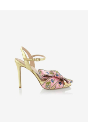 Cynthia Rowley Anjelica Bow High Heel Sandal - Product Mini Image
