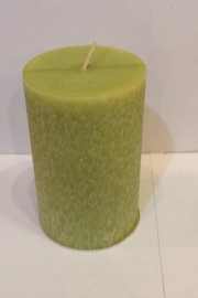 Root Candle Anjou Pear Pillar - Front cropped