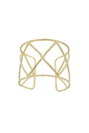 Anju Gold Diamond Cuff - Product Mini Image