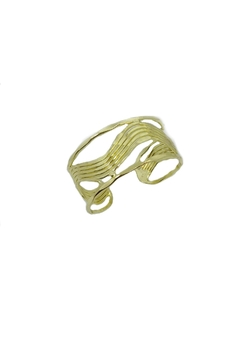 Anju Gold Wave Cuff - Product List Image