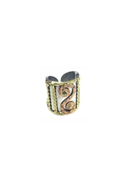 Anju Handcrafted Artisan Jewelry Anju Mixed-Metal Cuff-Ring - Product Mini Image